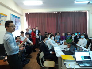 Семинар-тренинг и аудит в рамках процедуры институциональной аккредитации ТОО «Инновационный технический колледж города Алматы»